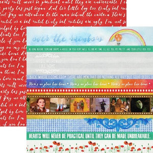 Wizard of Oz Borders Double-Sided Paper