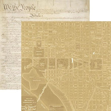 Load image into Gallery viewer, Washington DC Map Double Sided Paper