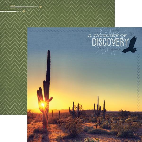 Journey of Discovery Double Sided Paper