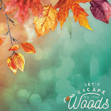"Load image into Gallery viewer, Autumn Woods 12"" Double Sided Scrapbook Paper"