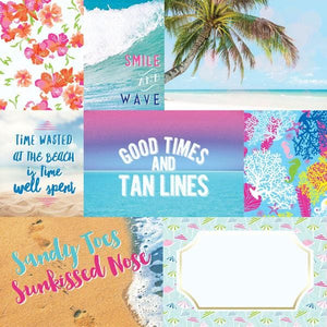 Paradise Found Tags Double Sided Paper