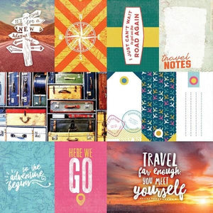 Explore Your World Tags Double Sided Paper