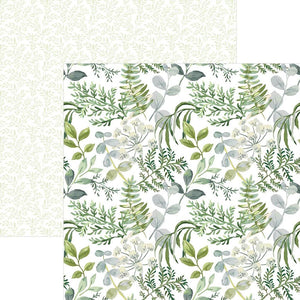 Greenery Double Sided Paper
