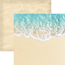 Load image into Gallery viewer, Coastal Waves Double Sided Paper