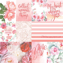 Load image into Gallery viewer, Rose Garden Tags Double Sided Paper