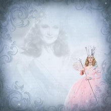 Load image into Gallery viewer, Wizard of Oz Glinda double sided paper