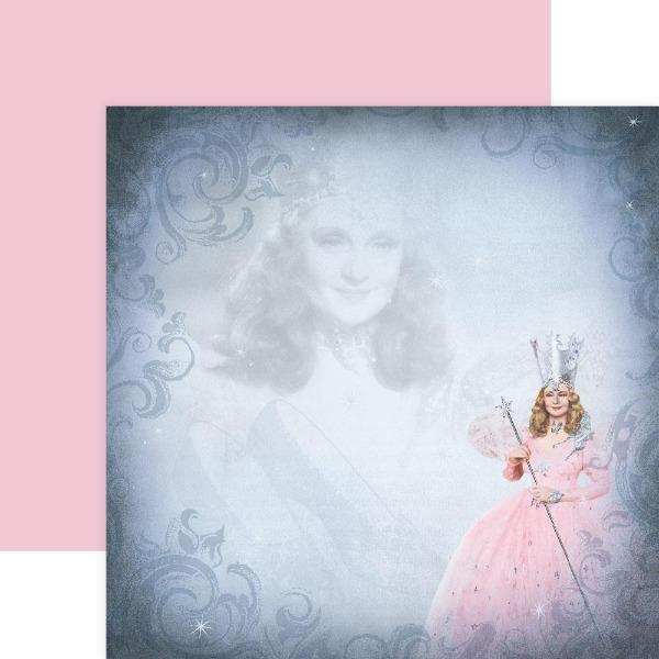 Wizard of Oz Glinda double sided paper