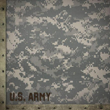 Load image into Gallery viewer, United States Army camo double sided paper