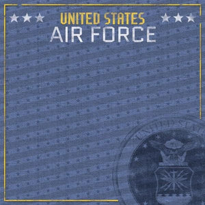 United States Air Force Emblem double sided paper
