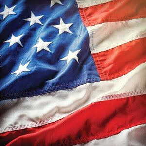 United States Flag Double Sided Paper