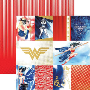 Wonder Woman™ Tags Foil Paper