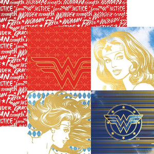 Wonder Woman™ Portraits Foil Paper