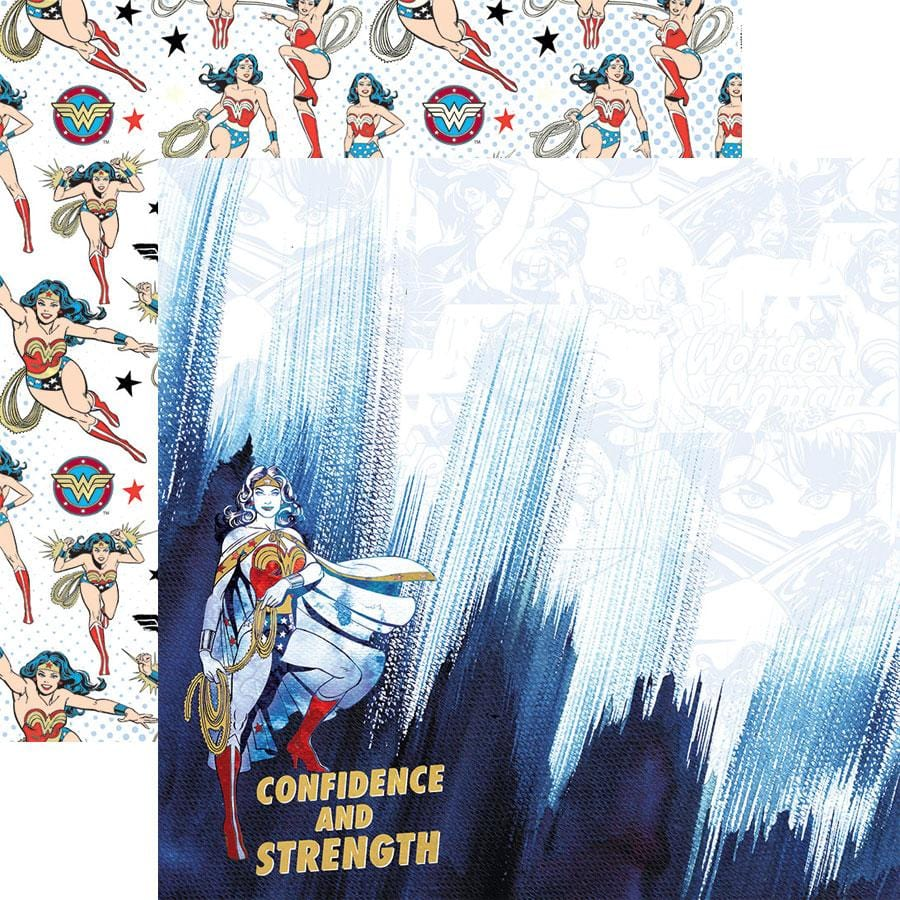 Wonder Woman™ Confidence and Strength Foil Paper