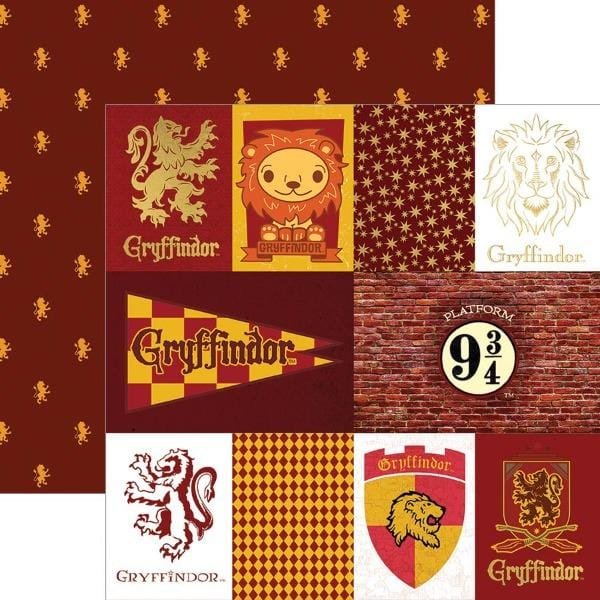 Harry Potter™ Gryffindor Tags Foil Paper