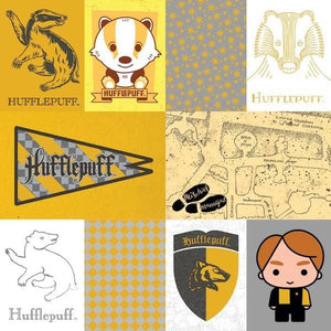 Harry Potter™ Hufflepuff Tags Foil Paper