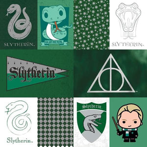 Harry Potter™ Slytherin Tags Foil Paper