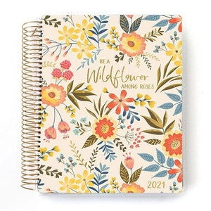 Wildflowers 2021 Dated Planner