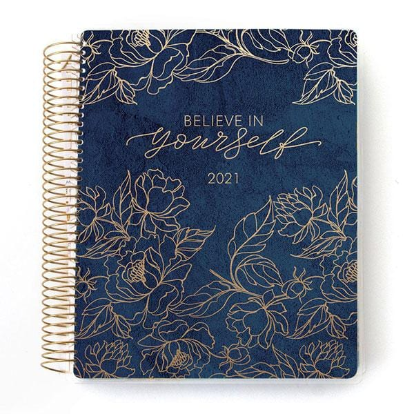 believe in yourself 2021 dated planner