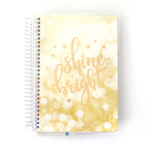Shine Bright 12 Month Undated Mini Planner