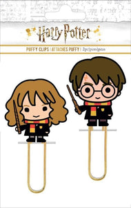 Harry and Hermoine Puffy Clip