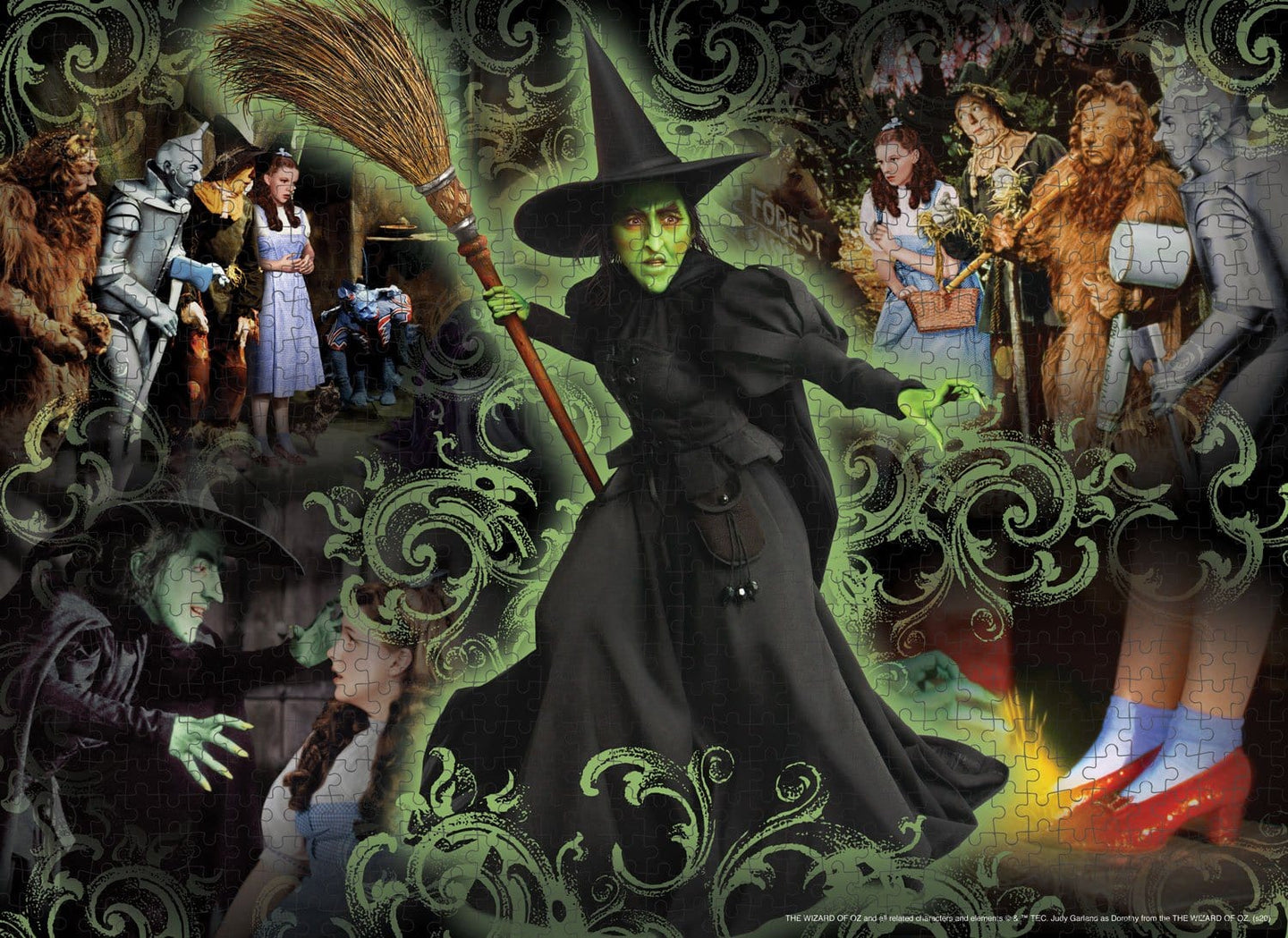 Wizard of Oz- Wicked Witch 500 Piece Puzzle