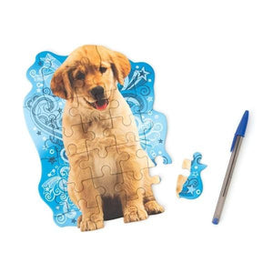 golden puppy mini puzzle