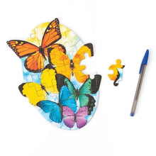 Load image into Gallery viewer, Butterflies Mini Puzzle