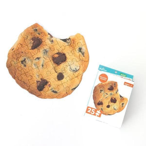 Chocolate Chip Cookie Scratch and Sniff Mini Puzzle