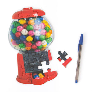 Gumball Machine Scratch and Sniff Mini Puzzle
