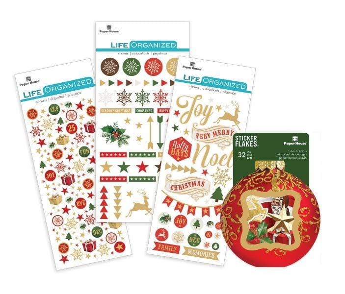 christmas joy sticker lovers set
