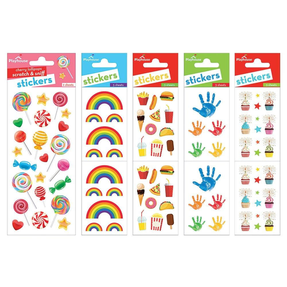 Rainbow Fun Sticker Bundle