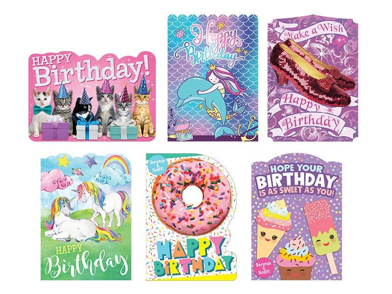 Pretty In Pink Kids Card Bundle
