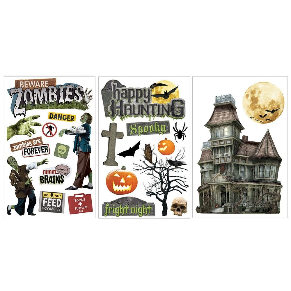 Halloween Haunting 3D Sticker Bundle