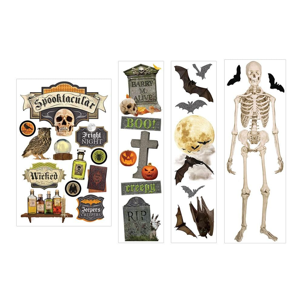 Spooktacular 3D Sticker Bundle