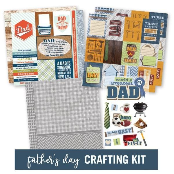 Father's Day Craft Kit- Dad