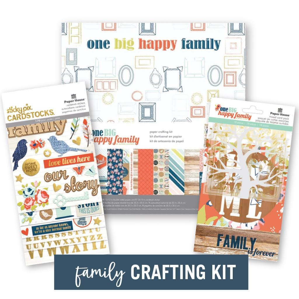 One Big Happy Family Craft Kit