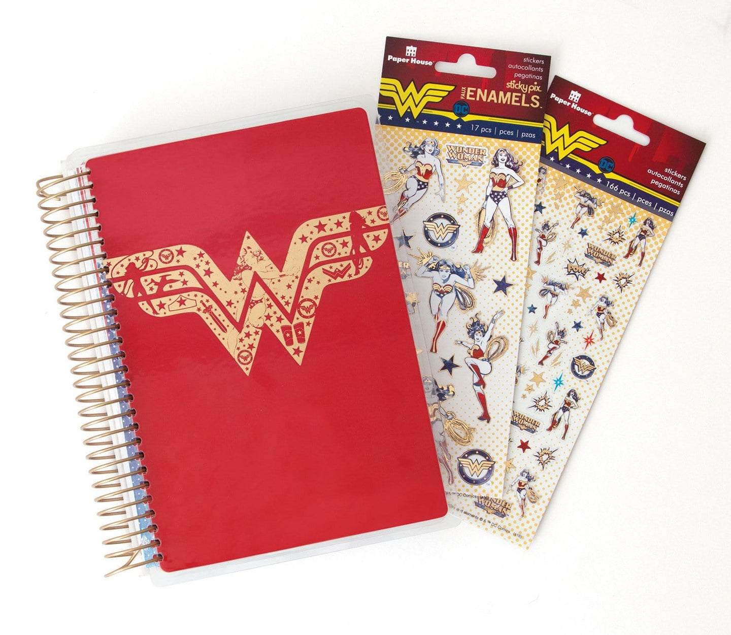 Wonder Woman™ Mini Planner and Accessory Bundle