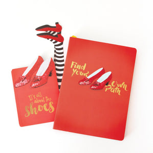 Wizard of Oz™ Ruby Slippers Journal On the Go Bundle