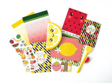 Load image into Gallery viewer, Cutie Fruitie Stationery Set