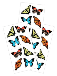 "butterflies 2x4 2"" sticker"