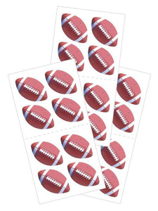"footballs 2"" sticker"