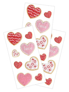"Valentine's Cookies 2"" Sticker"