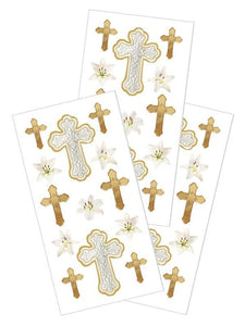 "cross 2"" stickers"