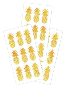 "golden pineapples 2"" stickers"