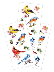 "Watercolor Birds 2"" Sticker"
