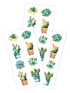 "Succulents 2"" Sticker"