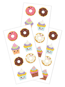 "Sweet Treats 2"" Stickers"
