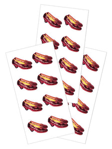 "Wizard of Oz™ Ruby Slippers 2"" Stickers"