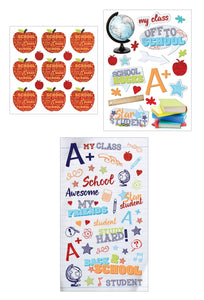 School Mixed Sticker Pack