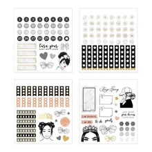 Load image into Gallery viewer, glamorous girls mini sticker book
